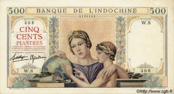 500 Piastres INDOCHINE FRANÇAISE  1939 P.057 pr.NEUF