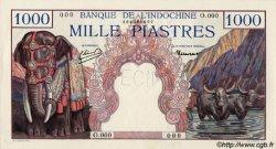 1000 Piastres INDOCHINE FRANÇAISE  1948 P.084s1 SPL