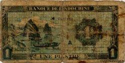 1 Piastre bleu INDOCHINE FRANÇAISE  1944 P.059a pr.B