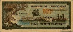 500 Piastres gris INDOCHINE FRANÇAISE  1945 P.069 TTB