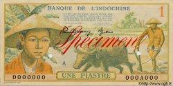 1 Piastre INDOCHINE FRANÇAISE  1949 P.074s SUP