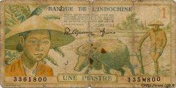 1 Piastre INDOCHINE FRANÇAISE  1949 P.074 B
