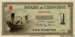 1 Piastre INDOCHINE FRANÇAISE  1945 P.076a SPL