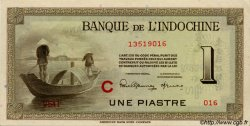 1 Piastre INDOCHINE FRANÇAISE  1945 P.076b SUP