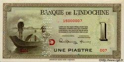 1 Piastre INDOCHINE FRANÇAISE  1945 P.076bs pr.NEUF