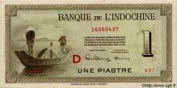 1 Piastre INDOCHINE FRANÇAISE  1945 P.076b pr.NEUF