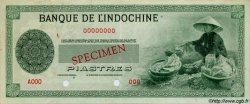 (50 Piastres) INDOCHINE FRANÇAISE  1945 P.077 var pr.SUP