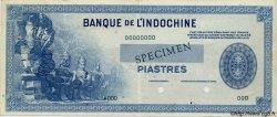 100 Piastres INDOCHINE FRANÇAISE  1945 P.078 var pr.SUP