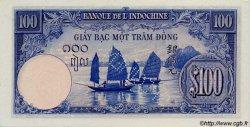 100 Piastres INDOCHINE FRANÇAISE  1945 P.079as NEUF