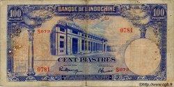 100 Piastres INDOCHINE FRANÇAISE  1945 P.079a B