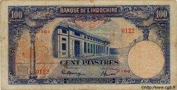 100 Piastres INDOCHINE FRANÇAISE  1945 P.079a pr.TB