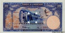 100 Piastres INDOCHINE FRANÇAISE  1945 P.079as SUP+