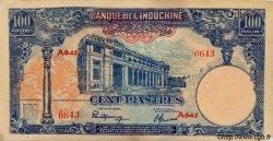 100 Piastres INDOCHINE FRANÇAISE  1945 P.079b SUP