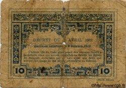 10 Cents INDOCHINE FRANÇAISE  1920 P.043 B