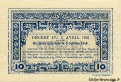 10 Cents INDOCHINE FRANÇAISE  1920 P.043s pr.NEUF