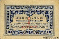 10 Cents INDOCHINE FRANÇAISE  1920 P.044 TTB+