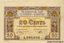 20 Cents INDOCHINE FRANÇAISE  1920 P.045a SUP