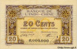 20 Cents INDOCHINE FRANÇAISE  1920 P.045bs NEUF
