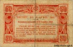 50 Cents INDOCHINE FRANÇAISE  1920 P.046 TB+