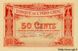 50 Cents FRENCH INDOCHINA  1920 P.047s