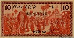 10 Cents INDOCHINE FRANÇAISE  1939 P.085a SUP