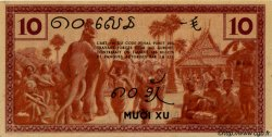 10 Cents INDOCHINE FRANÇAISE  1939 P.085b SPL