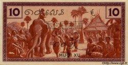 10 Cents INDOCHINE FRANÇAISE  1939 P.085c NEUF