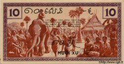 10 Cents INDOCHINE FRANÇAISE  1939 P.085c pr.NEUF