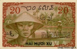 20 Cents INDOCHINE FRANÇAISE  1939 P.086c SUP+