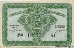5 Cents INDOCHINE FRANÇAISE  1943 P.088a pr.NEUF