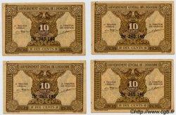 10 Cents INDOCHINE FRANÇAISE  1943 P.089 SPL