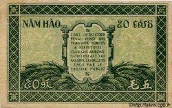 50 Cents INDOCHINE FRANÇAISE  1943 P.091 TTB+