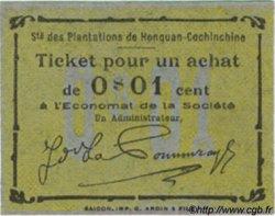 1 Cent INDOCHINE FRANÇAISE  1920  NEUF