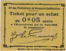 5 Cents INDOCHINE FRANÇAISE  1920  NEUF