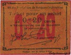 20 Cents INDOCHINE FRANÇAISE  1920  NEUF