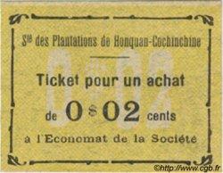 2 Cents INDOCHINE FRANÇAISE  1920  NEUF