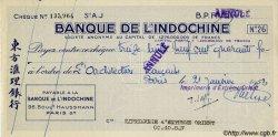 (100 Francs - 100 Piastres) INDOCHINE FRANÇAISE  1953 P.- SUP+