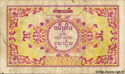 1 Piastre / 1 Kip INDOCHINE FRANÇAISE  1952 P.099 TB