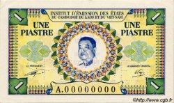 1 Piastre / 1 Kip INDOCHINE FRANÇAISE  1952 P.099s SPL+
