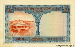 1 Piastre / 1 Riel INDOCHINE FRANÇAISE  1954 P.094 TTB+