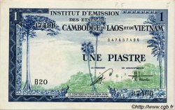 1 Piastre / 1 Dong INDOCHINE FRANÇAISE  1954 P.105 SUP
