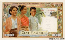 100 Piastres / 100 Dong INDOCHINE FRANÇAISE  1954 P.108 pr.NEUF