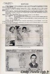100 Piastres / 100 Dong INDOCHINE FRANÇAISE  1954 P.108 TTB