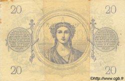 20 Francs 1871 FRANCE  1871 F.A46.02 TTB+