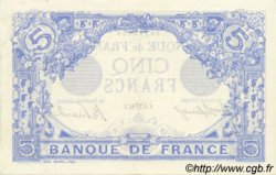 5 Francs BLEU FRANCE  1914 F.02.22 SPL