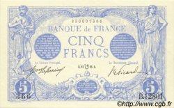 5 Francs BLEU lion inversé FRANCE  1916 F.02bis.04 pr.NEUF