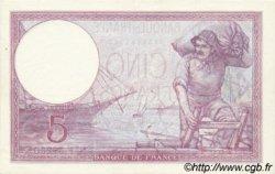 5 Francs VIOLET modifié FRANCE  1939 F.04.01 SPL