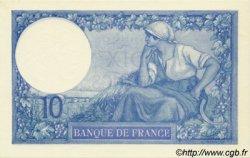 10 Francs MINERVE FRANCE  1916 F.06.01 pr.NEUF