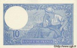 10 Francs MINERVE FRANCE  1921 F.06.05 pr.NEUF