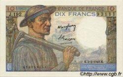 10 Francs MINEUR FRANCE  1949 F.08.21 NEUF